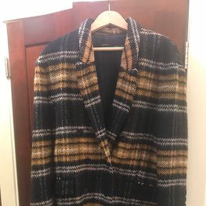 Jackets & Blazers - Zara plaid coat!